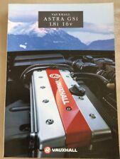 Vauxhall Astra GSi 1.8i 16v - Car Brochure - May 1993