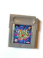 Tetris Blast NINTENDO ORIGINAL GAMEBOY GAME Tested + Working & Authentic!