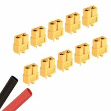 10 x Female RC XT60 Battery Connector + Heat Shrink Plane Helicopter Car
