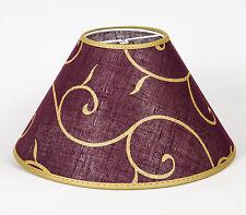 Lampenschirm Orientalisches Design Klemmschirm Rund  30 cm Tischlampe Asiatisch