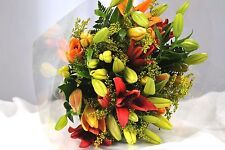 FRESH Real flowers Delivered Asiatic Lilies FREE UK Next Day Delivery