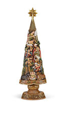 "Nativity Christmas Tree Figurine 30""H"