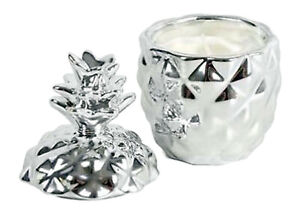 Silver Pineapple Ornament Candle Holder Scented Gifts For Mum Women Home Décor