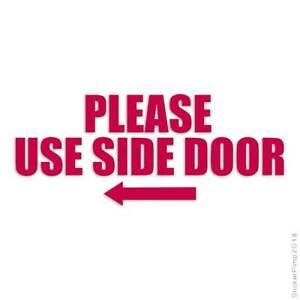 Please Use Side Door Left Decal Sticker Choose Color + Size #3557