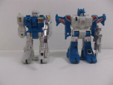 Vintage Transformers G1 1985 Topspin & Twin Twist Lot Complete Jumpstarters