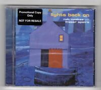 (HX824) Lights Back On, Rab Noakes with Fraser Speirs - 2000 Sealed CD