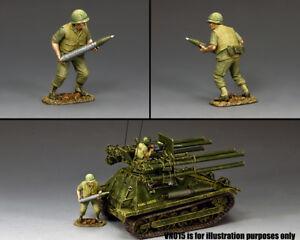 KING & COUNTRY VIETNAM WAR VN016 U.S. MARINE 106MM LOADER MIB