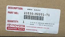 23530-U2201-71 LPG REGULATOR TOYOTA OEM 23530U220171, Fuel System (#252690567159