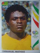 Panini 517 Emmanuel Mathias Togo FIFA WM 2006 Germany