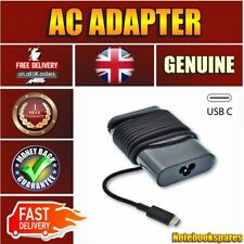 Original Dell Latitude 7275 65w USB Type C Adapter Power Charger Laptop UK