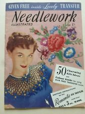 NEEDLEWORK ILLUSTRATED No. 202 (Early 1950's)