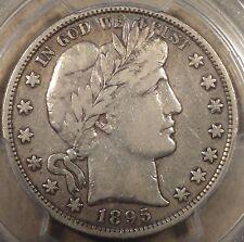 1895 Barber Half Dollar PCGS VF20 Nice Original Coin