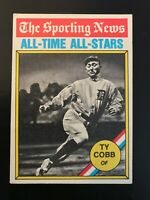 1976 Topps TY Cobb All-Time All-Stars ATG #346
