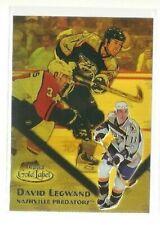 2000-01 Topps Gold Label Class 2 Gold #78 David Legwand 260/299 (ref 58139)