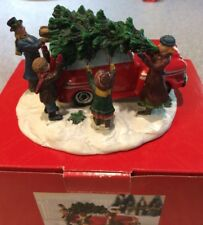 Kohl's St Nicholas Square Christmas Traditions Bringing in the Tree Figurine