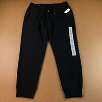 Old Navy Women's Size Medium Black Mid-Rise Tapered-Leg Jogger Pants NWT