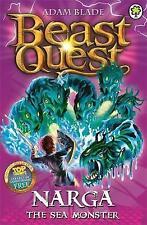 Narga the Sea Monster (Beast Quest - The Dark Realm), Blade, Adam, Very Good Con