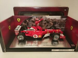 F1 Ferrari F2002 Michael Schumacher World Champion 2002 1/18