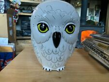 Harry Potter Hedwig The Owl Ceramic Coin Bank New