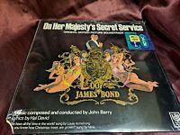 On Her Majesty's Secret Service Original Motion Picture Soundtrack Vinyl LP! New