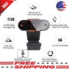 HD 1080P Webcam Auto Focusing Web Camera Cam Microphone For PC Laptop Desktop