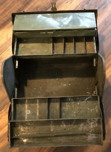 Vintage Cantilever Tool Box - The Real Deal - Lots Of Character - Great Price!