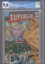 Supergirl ( Daring New Adventures of) #7 CGC 9.6 Marvel  1983 NEW FRAME  Comic