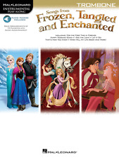 Songs From Frozen,Tangled And Enchanted For Trombone-Music Book/Audio Access-New