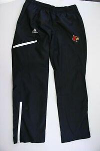 Adidas Climaproof Louisville Cardinals Warm Up Track Pants Sz Medium NWOT
