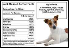 Jack Russell Terrier Facts Magnet