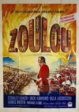 """Reproduction """"Zoulou"""" Movie Poster, Vintage Print, Classics"""