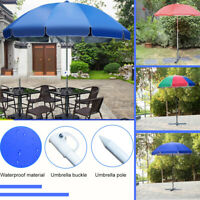 1.8m Large Portable Garden Umbrella Outdoor Shade Yard Shelter Beach Camping