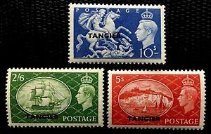 1950-51 Great Britain Stamps SC#556-558 Full Set MLH/OG CV:$60