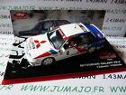 voiture 1/43 IXO altaya Rallye Monte Carlo MITSUBISHI Galant VR 4 1991 Salonen