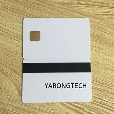 Contact Smart Card ISO7816 SLE4428 Chip Hico magnetic stripe -10pcs