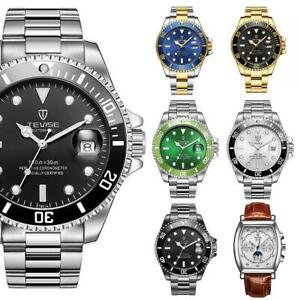 Tevise Mens Homage Automatic Watch All Colours Smart Watches Date Designer Gift