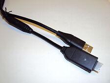 Cable Usb + Reino Unido o de la UE Ac Cargador Para Samsung Es73 Ex1 HZ1 Hz10 Hz25w Hz30w 044