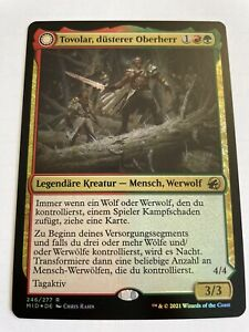 Tovolar, düsterer Oberherr - Innistrad Mitternachsjagd - Foil MTG Magic