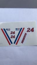 Corgi 160 Hesketh ford 308 F1 car paper sticker set only