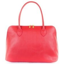 Classic Dixter Brouge in Scarlet by Amilu in Italian Leather