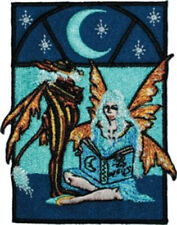 Amy Brown's Bed Time Stories Fairy Embroidered Patch New Unused