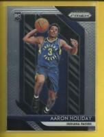 Aaron Holiday RC 2018-19 Panini Prizm Rookie Card # 114 UCLA Indiana Pacers NBA