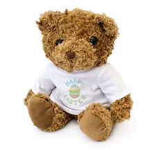 NEW - HAPPY EASTER - Teddy Bear - Cute And Cuddly - Gift Present