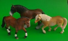 Vintage Schleich Bundle of 3 Horses