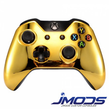 Xbox One 1 Custom Wireless Controller (Chrome Gold Standard) New 3.5mm jack