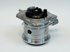 Reichert Microscope Condenser with Flip Up Lens, PN 18 466