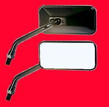 2 Spiegel schwarz Motorradspiegel Paar Lenkerspiegel Yamaha Rückspiegel M10x1.25