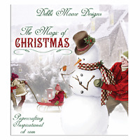 Debbi Moore ~ The Magic of Christmas ~ Papercrafting Inspirational CD Rom ~ NEW