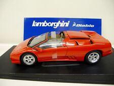 1:18 Autoart Lamborghini Diablo roadster rojo red nuevo New