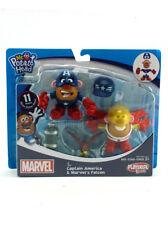 Mr. Potato Head Marvel Captain America Falcon Figures Mixable Mashable Playskool